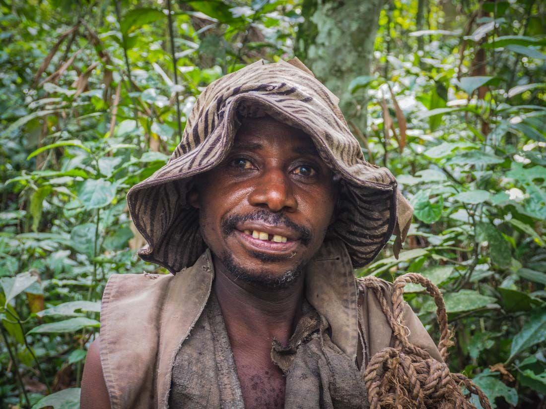 Batwa Man