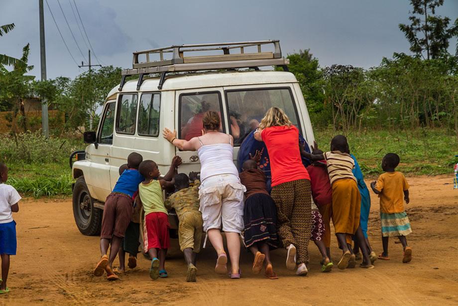Car Travel in Rwanda
