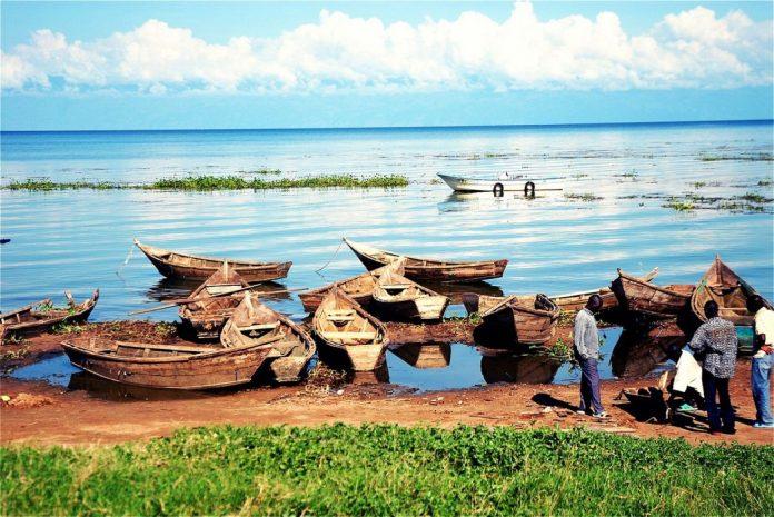 Boats in Uganda