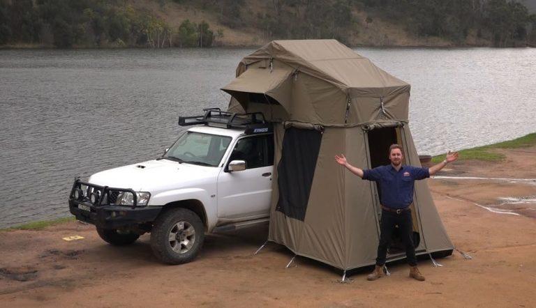 Rwanda Car Rental with a Rooftop Tent