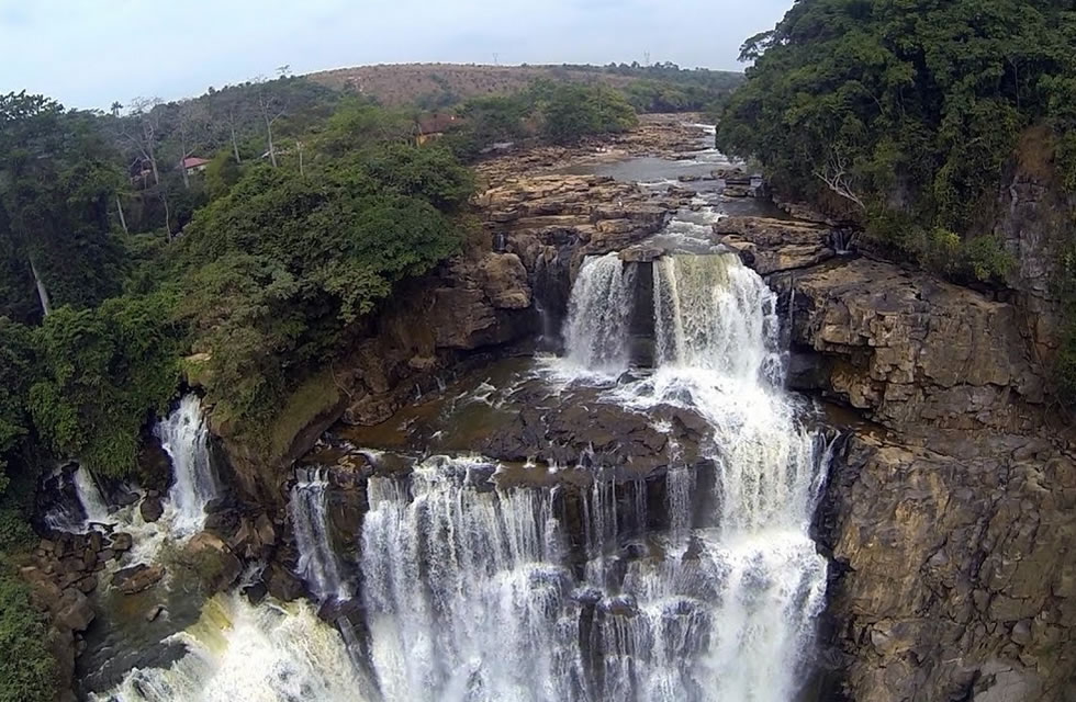 Zongo Waterfalls