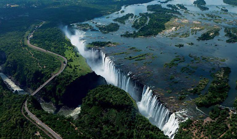 Exploring the Victoria Falls